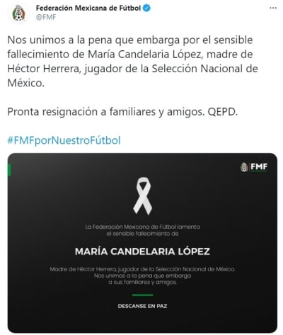 Héctor Herrera muerte madre 3