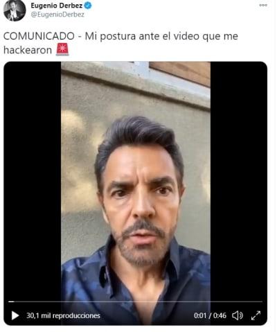 Eugenio Derbez tocándose 2