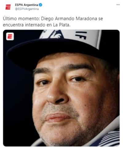 Maradona dado de alta 2