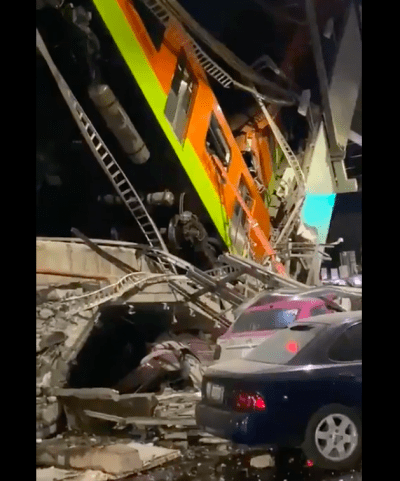 Rescate heridos Metro CdMX videos