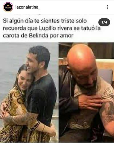 Lupillo Rivera rompe el silencio tras enterarse del romance entre Belinda y Christian Nodal