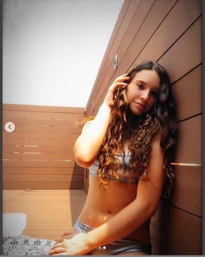 Hija de Andrea Legarreta
