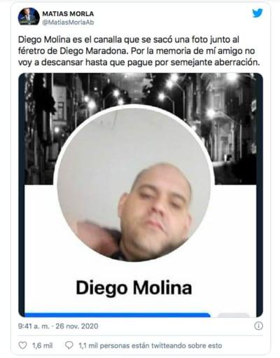Hombre foto con Maradona 3