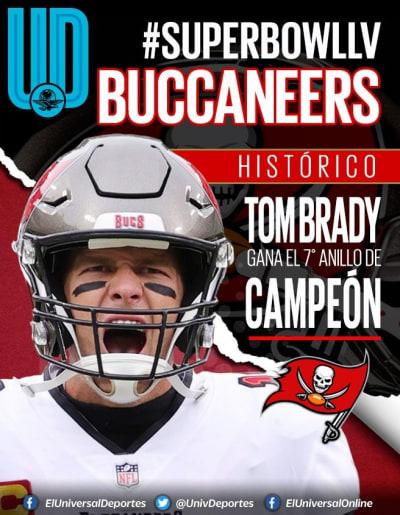 Tom Brady Super Bowl LV 2 Buccaneers de Tampa Bay