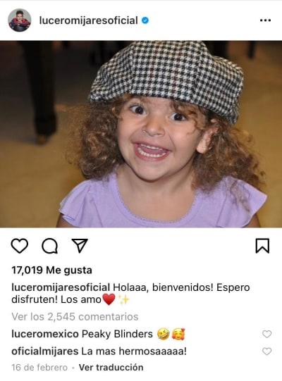 hija Andrea Legarreta