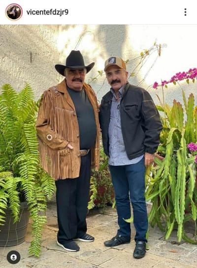 Vicente Fernández Jr aclara rumores sobre el estado de salud de su papá
