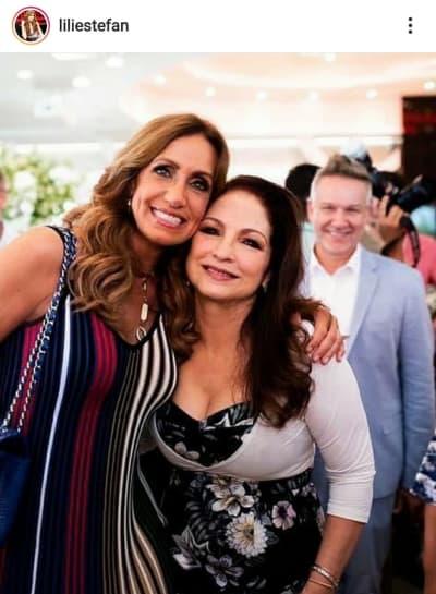 Lili Estefan de luto por la muerte del jefe de Estefan Enterprises Frank Joseph Amadeo