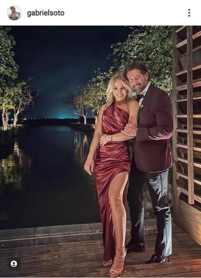 Tras la filtración de su video íntimo, Gabriel Soto le da el anillo de compromiso a Irina Baeva Geraldine Bazán