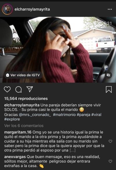 Video no dar hospedaje 1 El charro y la Mayrita