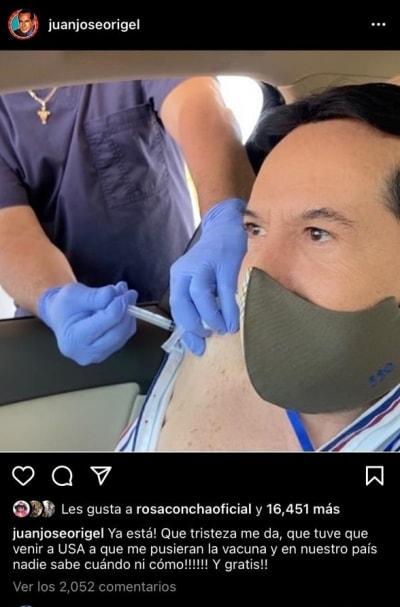 Juan José Origel vacuna coronavirus 1