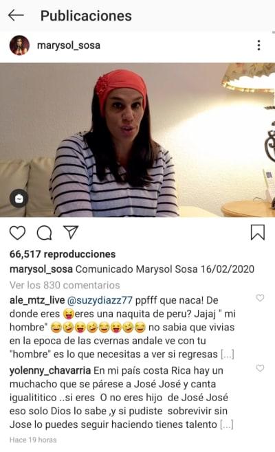 Marysol Sosa José José