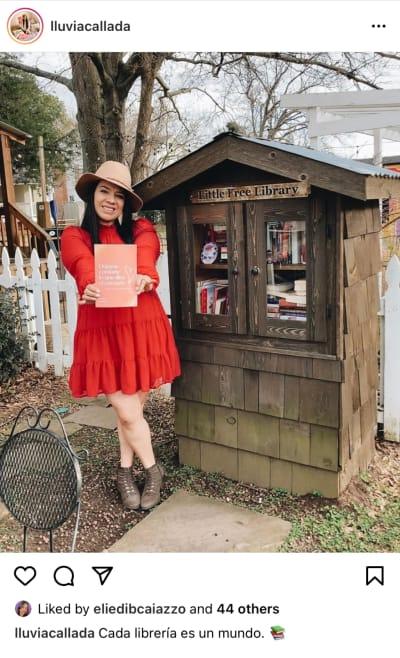 Georgia: Hispana soñaba con ser escritora y hoy es una realidad