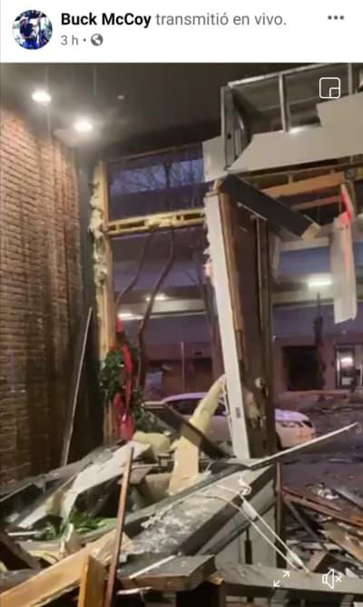 Explosión intencional Nashville