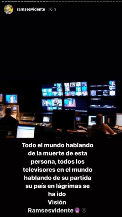 Ramsés Vidente predice terrible pérdida para televisora mexicana