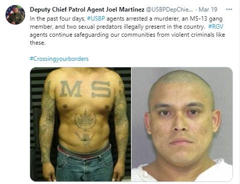 Agente CBP Fotos, migra