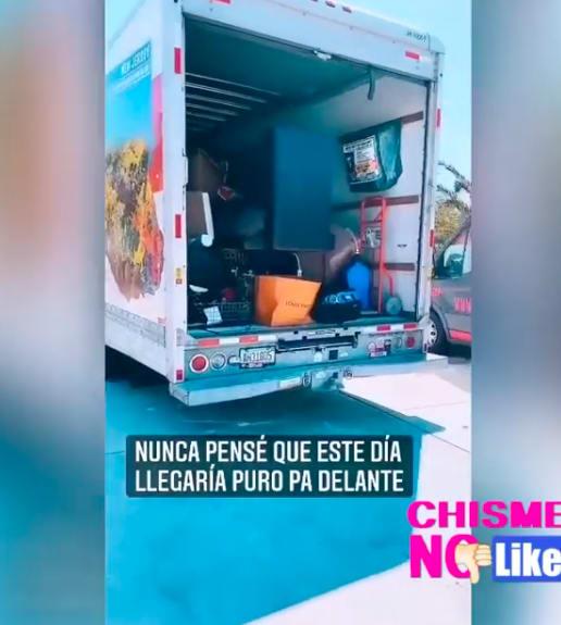 Supuesta mudanza de Jesús Mendoza (Instagram)