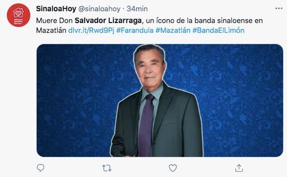 Salvador Lizárraga Original Banda El Limón