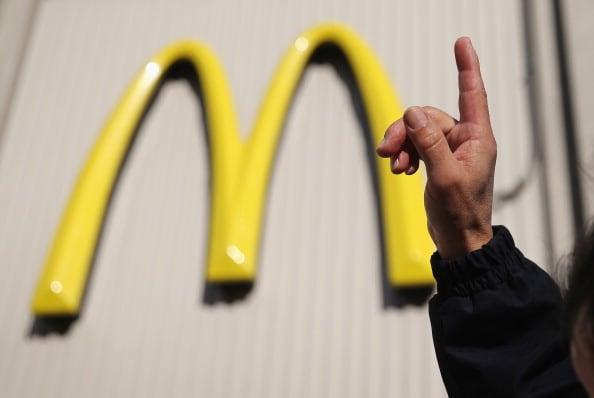 McDonald's cierra en Walmart