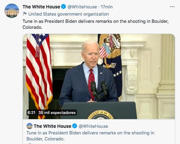 Biden prohibir armas