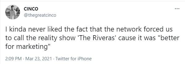 Johnny Rivera, hermano de Chiquis, se avergüenza de su familia Jenni Rivera
