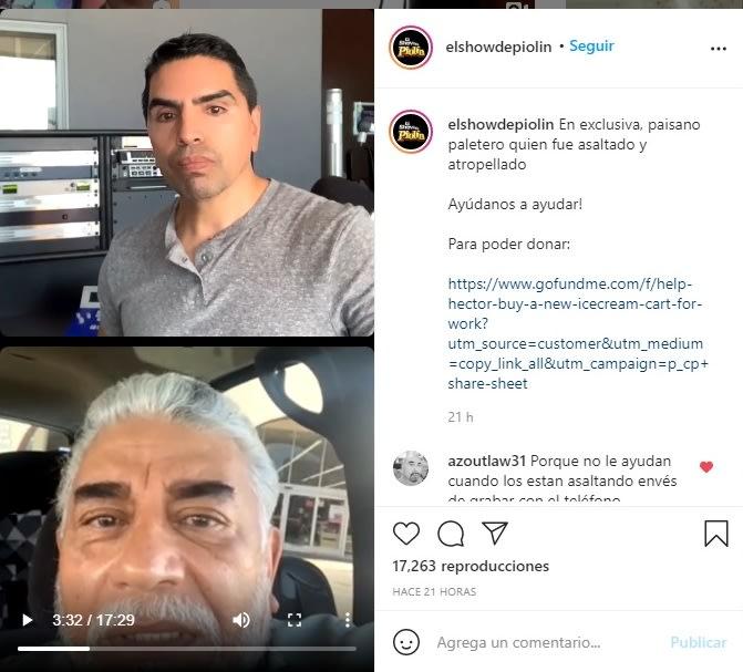 El show de Piolín Eduardo Sotelo paletero hispano 4