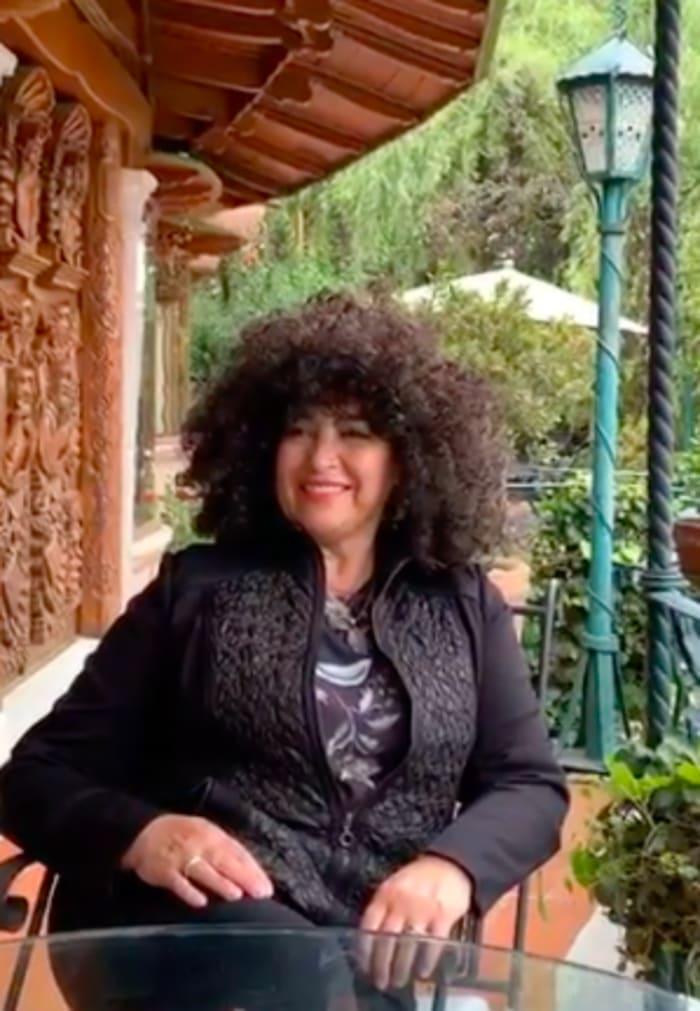 Amanda Miguel cabellera (IG)
