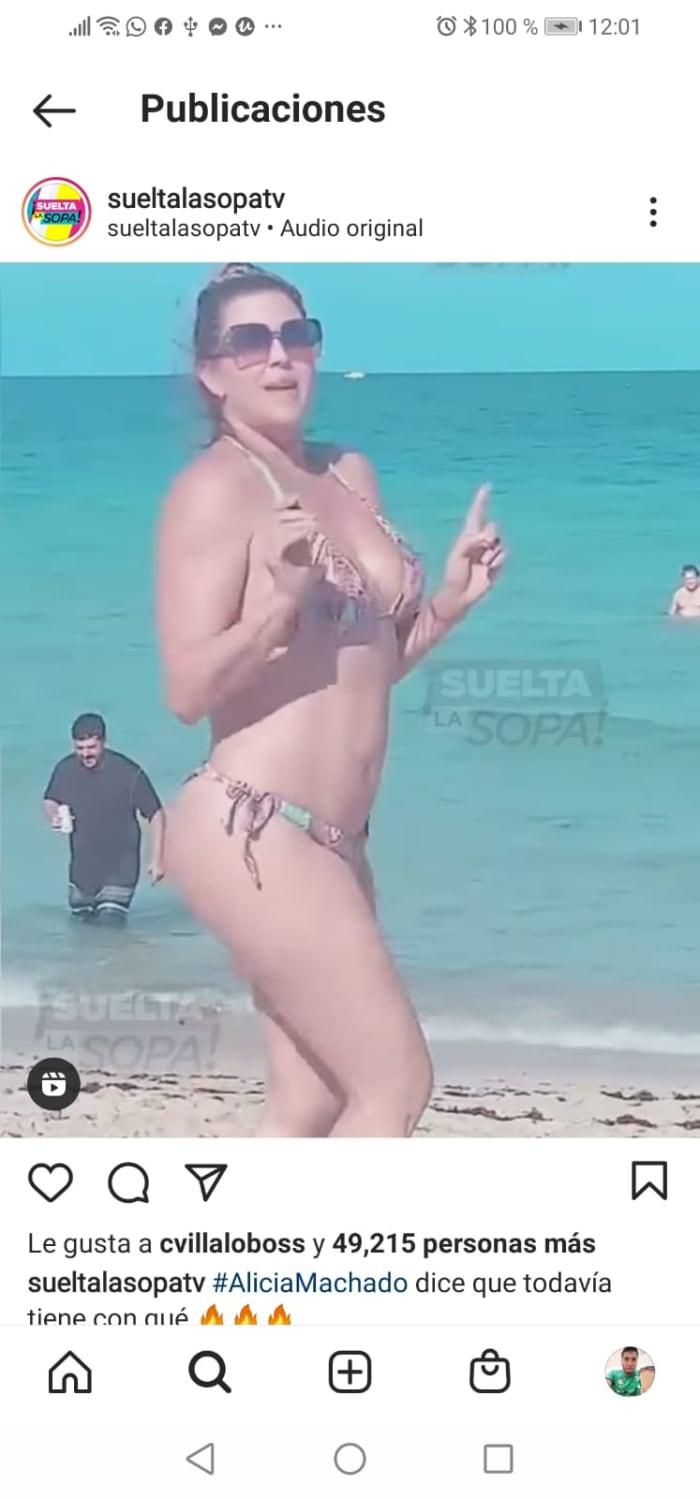 Alicia Machado bikini