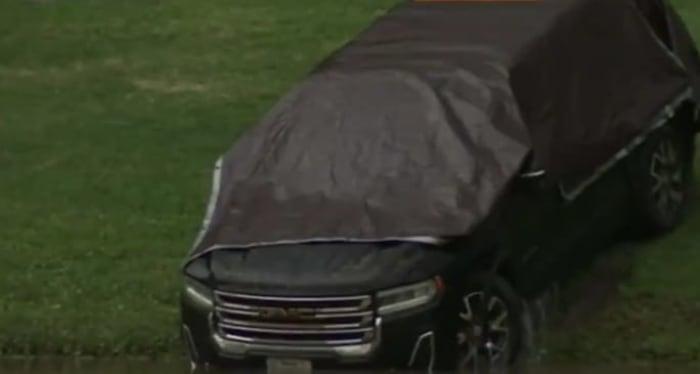 Erica Hernández's car