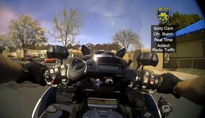 conductor desató balacera