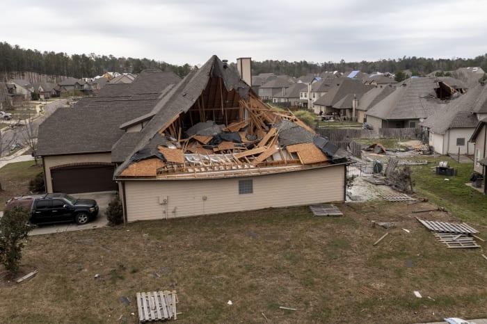 Muertos tormentas tornados