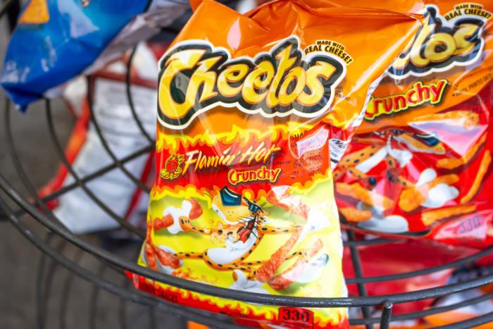 Bala Cheetos flamin hot