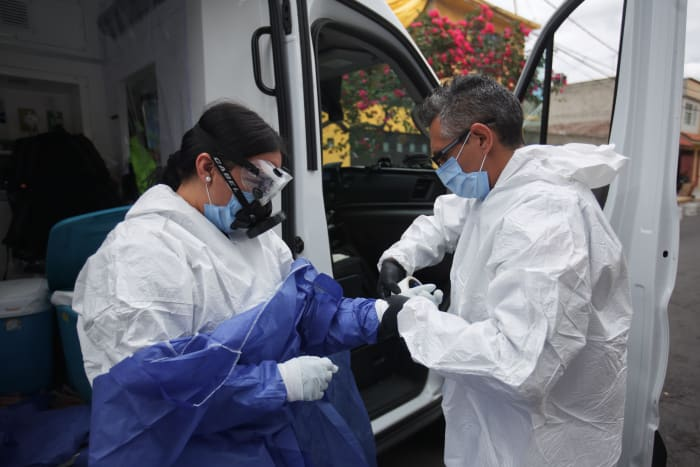 Libro daño irreparable coronavirus
