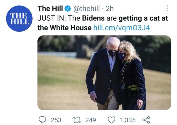 Casa Blanca familia Biden