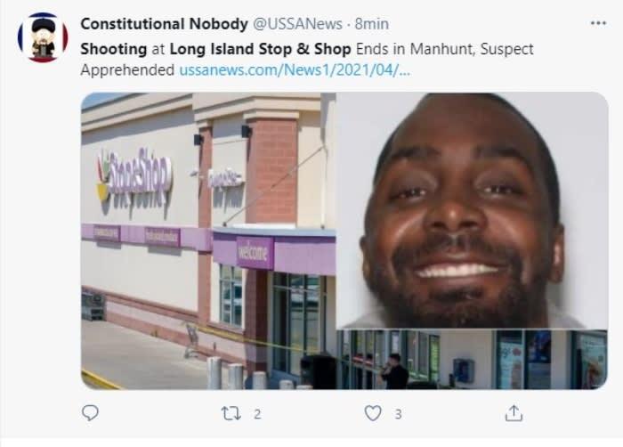Arrestan a sospecho de tiroteo en supermercado de Long Island
