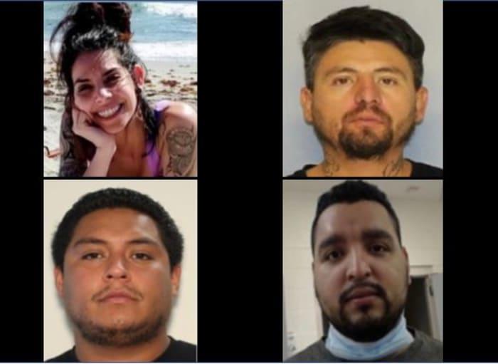 Cinco sospechosos asesinato de Rossana