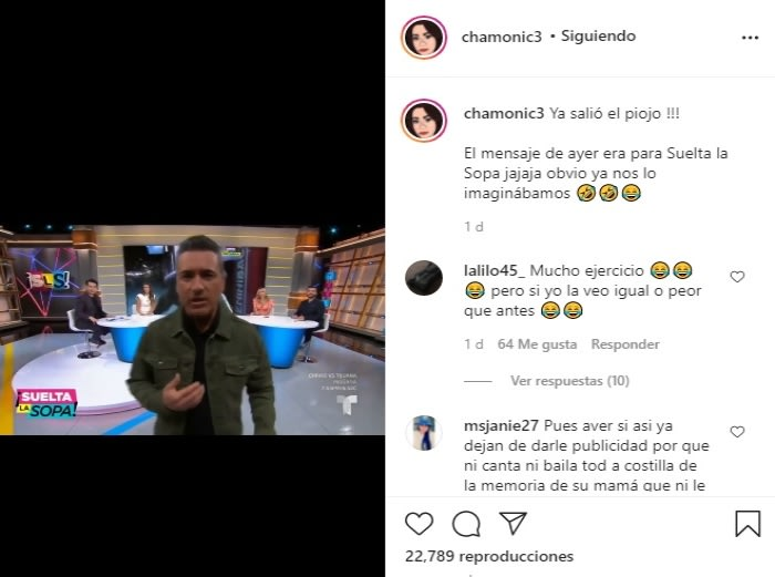 Chiquis Rivera no aguanta más y se pelea con Suelta la sopa