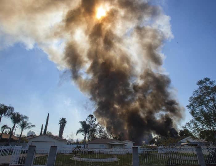 Explosión Los Ángeles (AP)