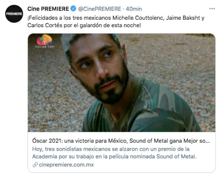 México Oscar Mejor Sonido