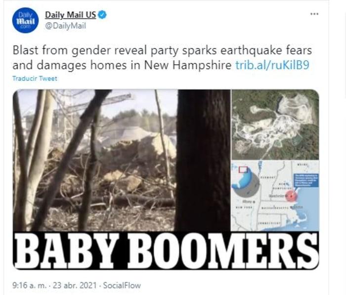 explosión en gender reveal