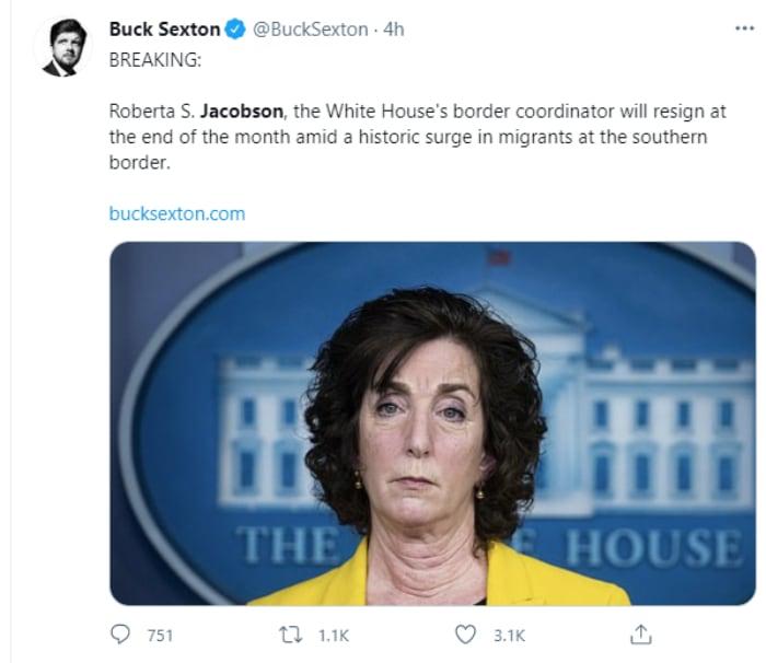 """Roberta Jacobson, """"Zar de la frontera"""", crisis"""