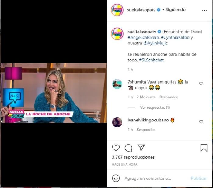 Aylín Mujica Angélica Rivera Cynthia Klitbo filtro 3