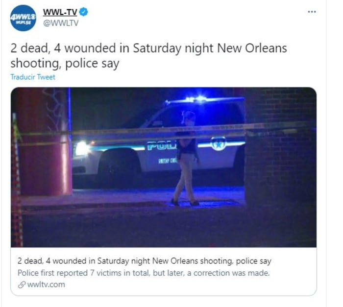 shooting in new orleans