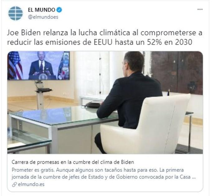 biden cambio climático