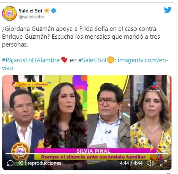 Giordana Guzmán prima Frida Sofía