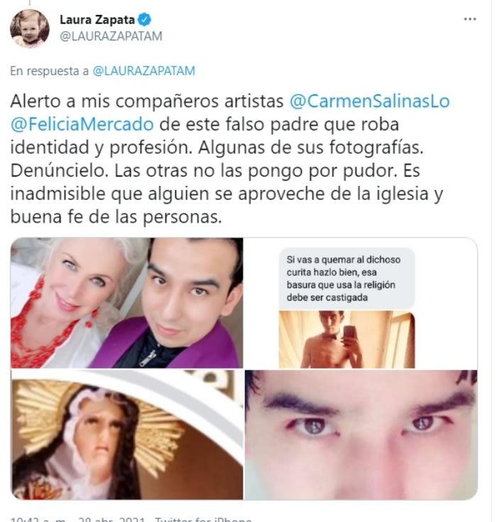 Laura Zapata falso sacerdote 3