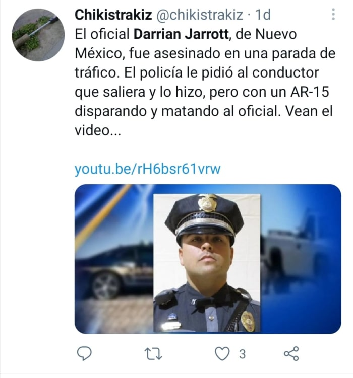 Omar Cueva Darrian Jarrot