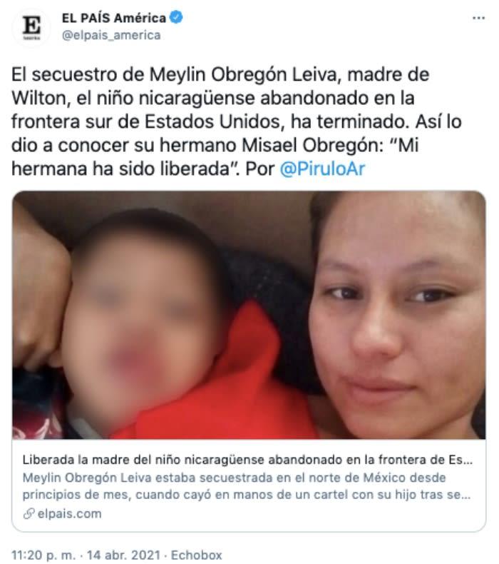 madre niño frontera