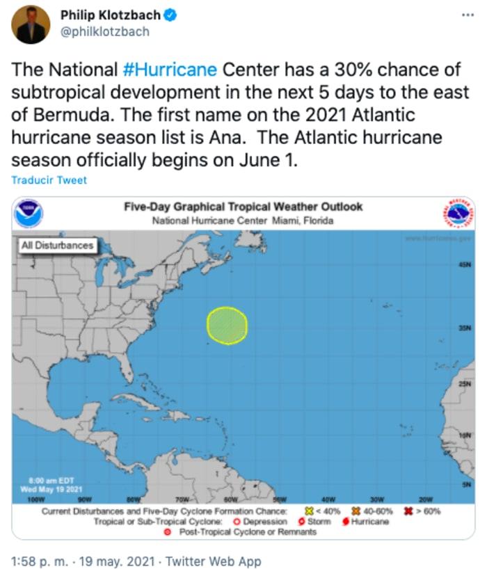tormenta Ana