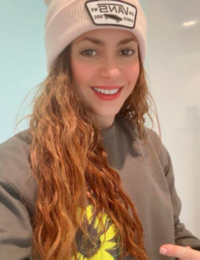 Shakira colegiala