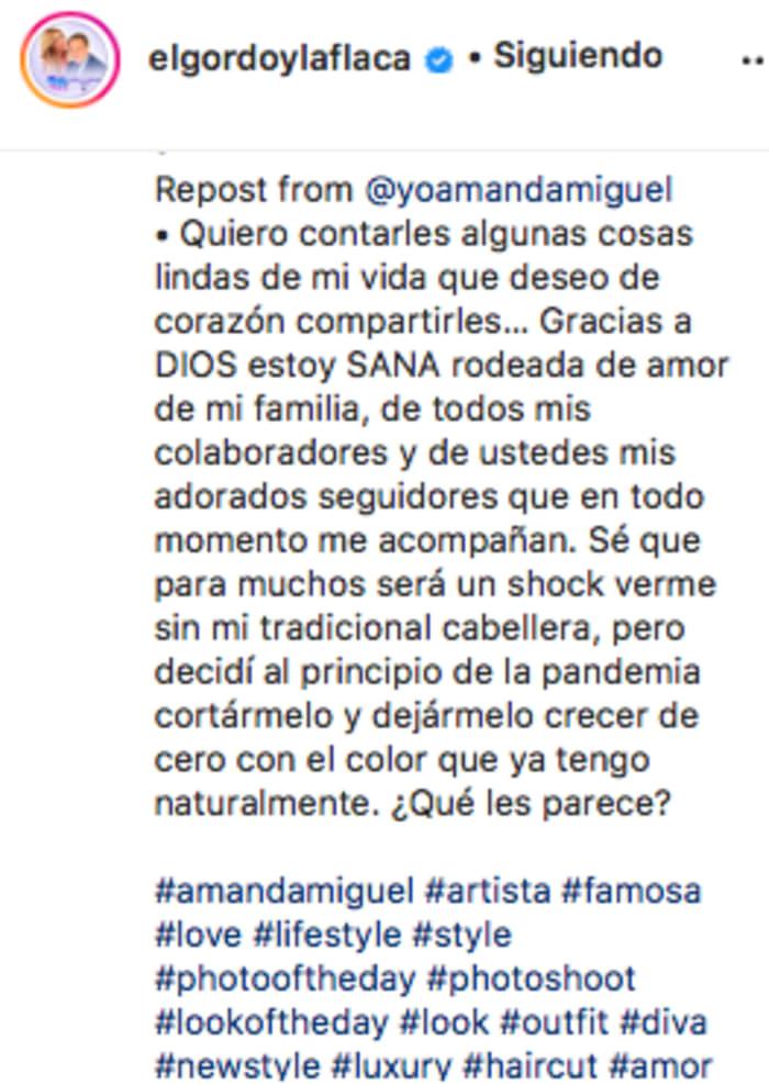 La esposa de Diego Verdaguer escribió palabras (IG)